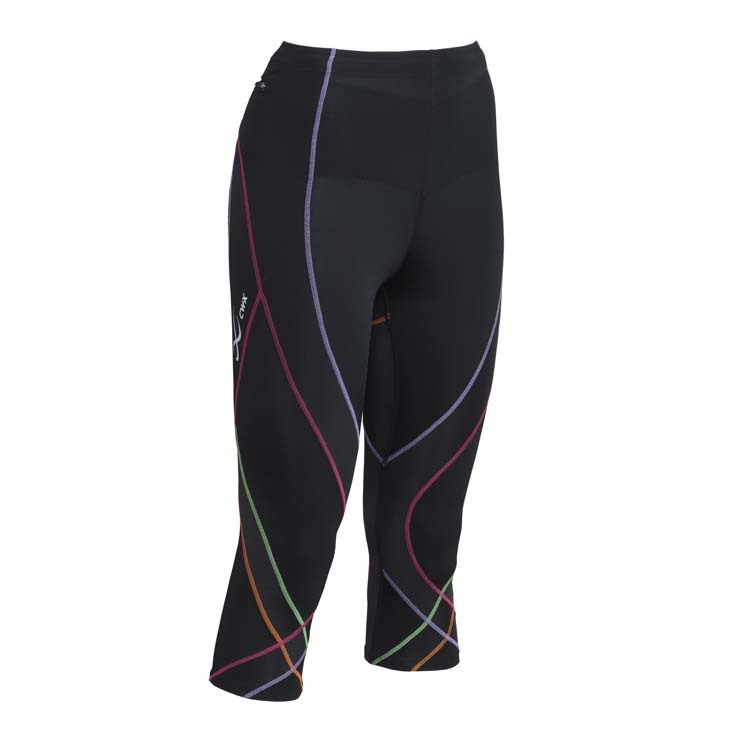 Endurance 3/4 Pro Tight Black/Purple 140806-593