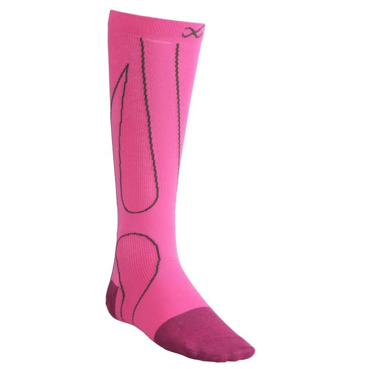 Performx Socks Pink/Charcoal 300003-692
